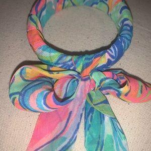 Lilly Pulitzer NWT 🧜🏽♀️ scarf bangle bracelet